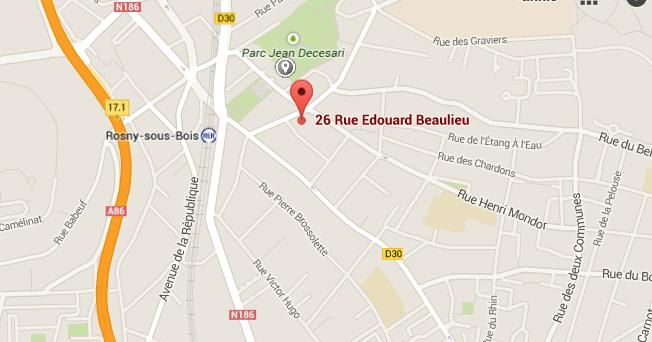 Rue edouard beaulieu